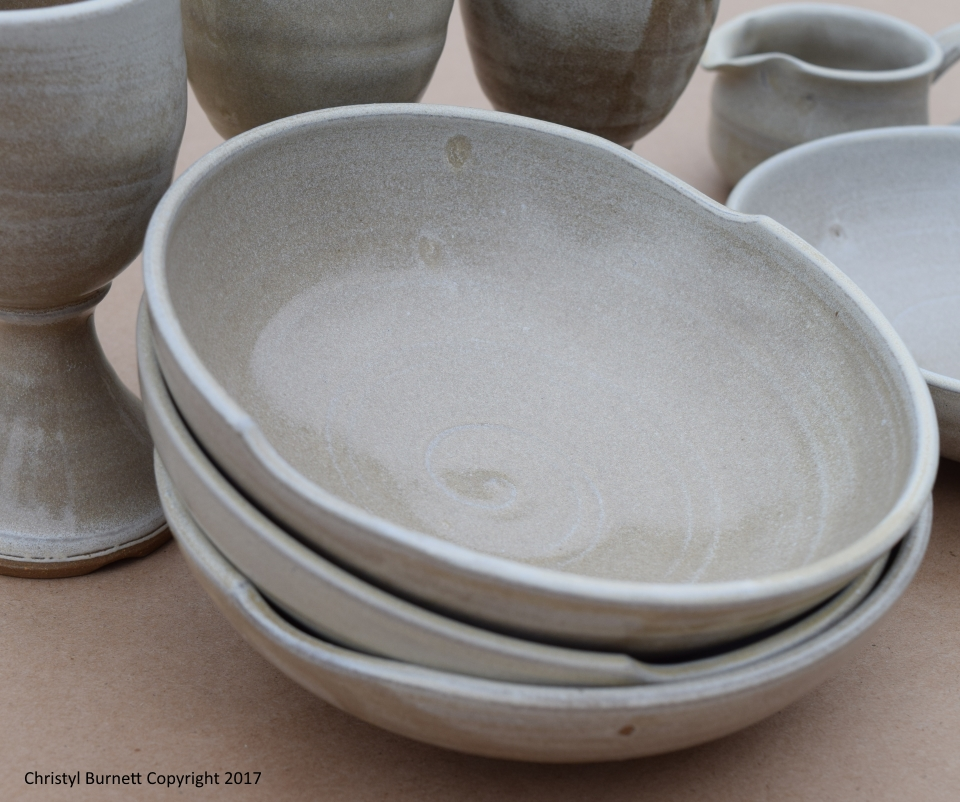 Bowls by Christyl Burnett